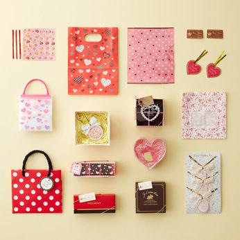ラッピング 袋 バレンタイン
